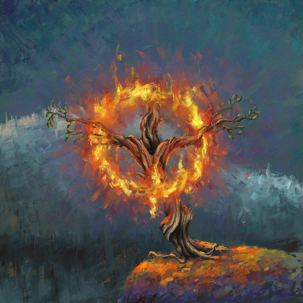 재림그리스도 안상홍 성부시대 여호와 하나님 떨기나무