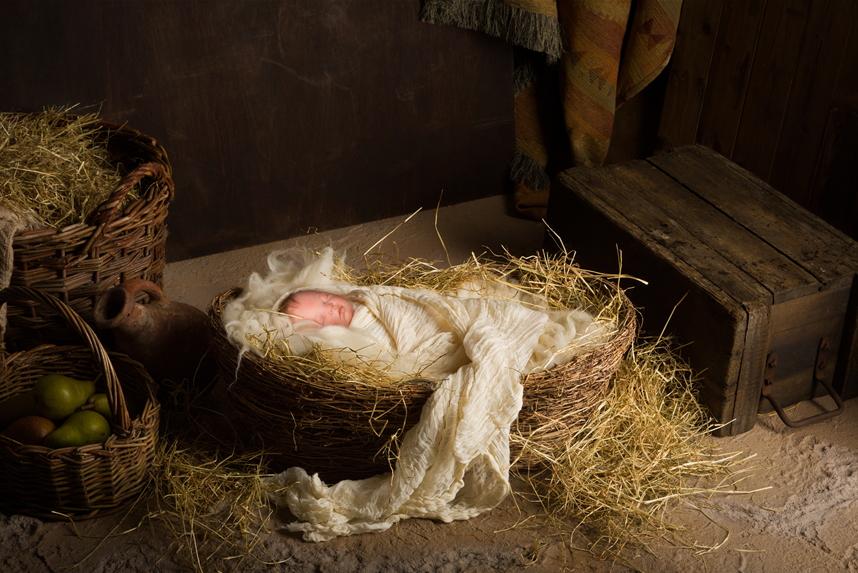 2000년 전, 육체를 입고 이 땅에 오신 초림 예수님